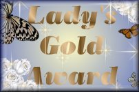 Lady's Gold Award ...Click here for award info